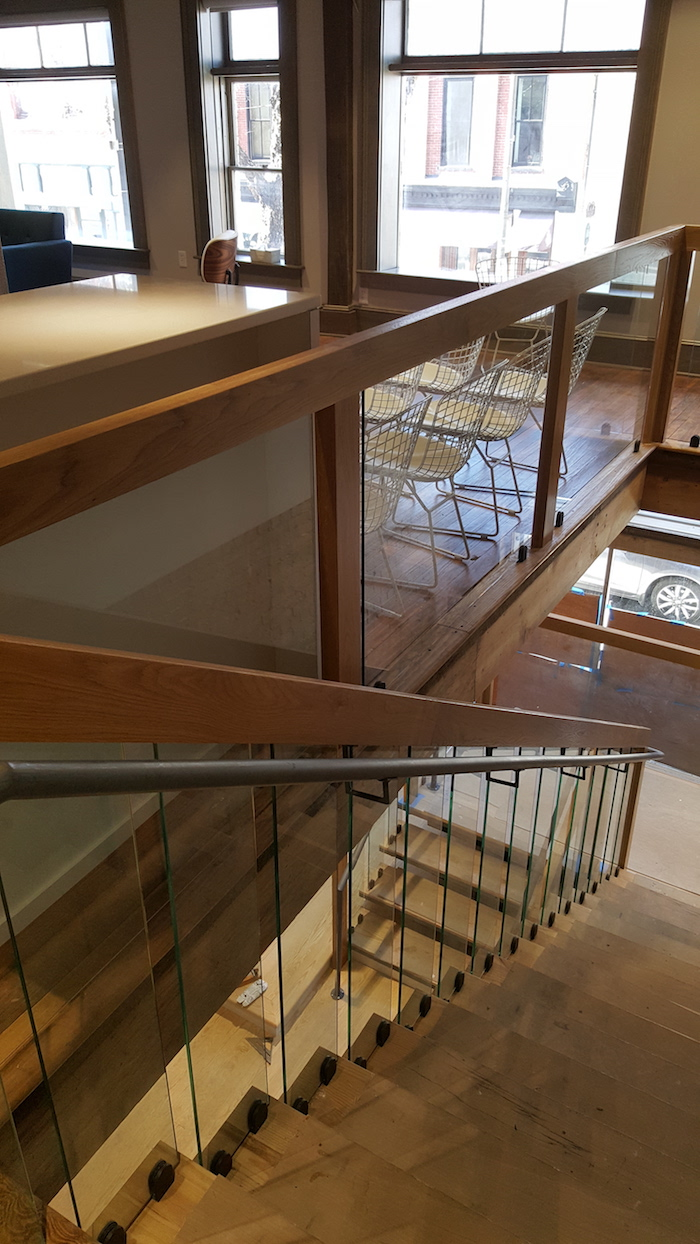 Architectural staircase millwork project showcase for Architectural trim