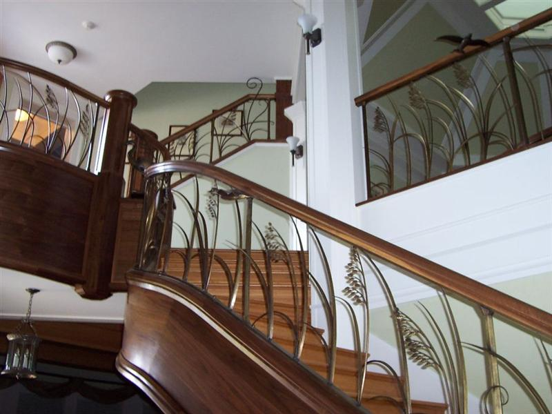 Architectural Staircase Millwork Project Showcase